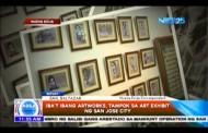 Iba't-ibang artworks, tampok sa Art Exhibit ng San Jose City