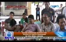 Blood Donation Activity ng Iglesia Ni Cristo isinagawa sa Sta Rosa Laguna