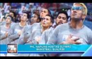 Pilipinas, isa sa host ng Olympic basketball Qualifiers