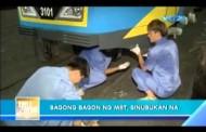 Bagong Bagon ng MRT, Sinubukan na!