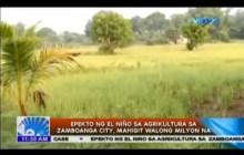 Epekto ng El Niño sa Zamboanga, Mahigit Walong Milyon na!