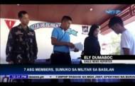 Ilang Miyembro ng Abu Sayyaf, Sumuko sa Militar sa Basilan