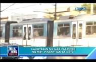 Kaligtasan at Kapakanan ng mga Pasahero ng MRT, Pinatitiyak sa DOTC