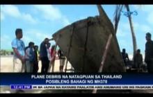 Posibleng bahagi ng MH370, natagpuan sa Thailand