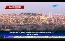 Rasyon ng tubig sa Zamboanga, ipinatupad na!