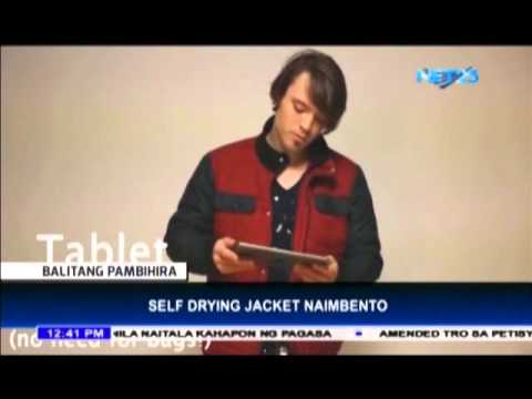 Self Drying Jacket Naimbento