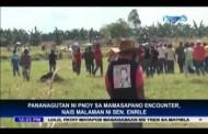 Sen. Enrile Nais Muling Buksan ang Imbestigasyon sa Mamasapano Encounter