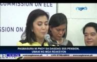 SSS Pension Hike, ibinasura ni PNoy