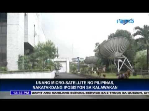 Unang Micro Satellite ng Pilipinas