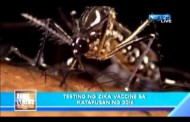 Puwedeng maging vaccine para sa Zika Virus ay susubukan sa pagtatapos ng 2016