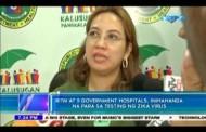RITM at 5 Government Hospitals, ihahanda na para sa testing ng Zika Virus