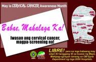 Mga kababaihang Tanaueño, sasailalim sa libreng cervical cancer screening