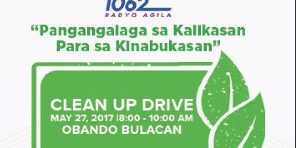 Radyo Agila Clean-up Drive in Obando, Bulacan