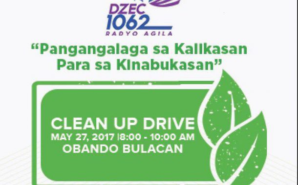 Radyo Agila Clean-up Drive in Obando, Bulacan