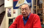 "CPP founding chairman Jose Maria ""wala akong colon cancer"""