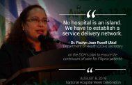 National Hospital Week ipinagdiriwang ng DOH ibat'ibang aktibidad pangkalusugan isinasagawa sa buong bansa