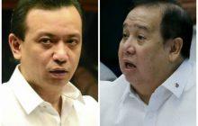 Reklamo ni Sen. Gordon vs Sen. Trillanes, idineklara ng sufficient in form at substance ng Senate Committee on Ethics