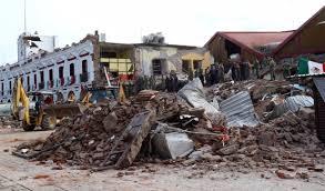 Aftershocks, patuloy na nararanasan sa Mexico....Relief operations, apektado