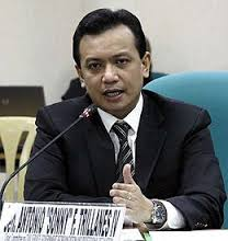 Senador Trillanes , nagbantang kakasuhan ang AMLC kaugnay sa bank accounts ni Pangulong Duterte