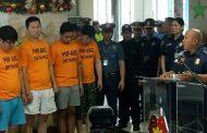 3 Koreano at 1 pinoy na suspect sa kidnapping case arestado ng PNP Anti- Kidnapping Group  sa Pampanga