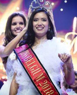 Pinay, kinoronahang Miss Belgium 2018