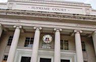 Korte Suprema, hindi pa inaaksyunan ang kahilingan ng DOJ na ilipat ang paglilitis sa kaso sa Mamasapano incident sa Metro Manila mula Cotabato City