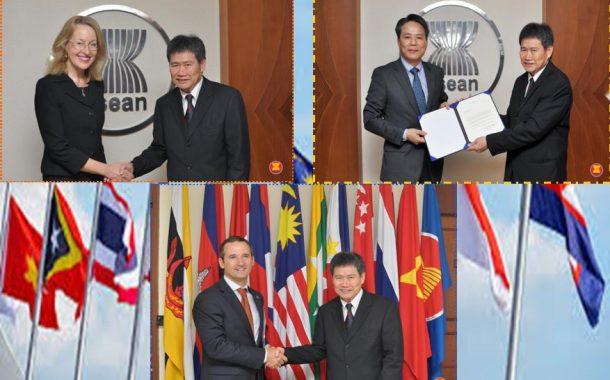 EU, Australia at Korea, muling nagsumite ng kanilang credentials bilang pagsuporta sa Asean organization