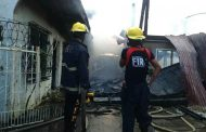 Apartment sa Dagupan City, Pangasinan natupok ng apoy