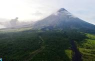 Halos 300 Volcanic earthquakes, naitala sa Bulkang Mayon sa loob ng 24 oras