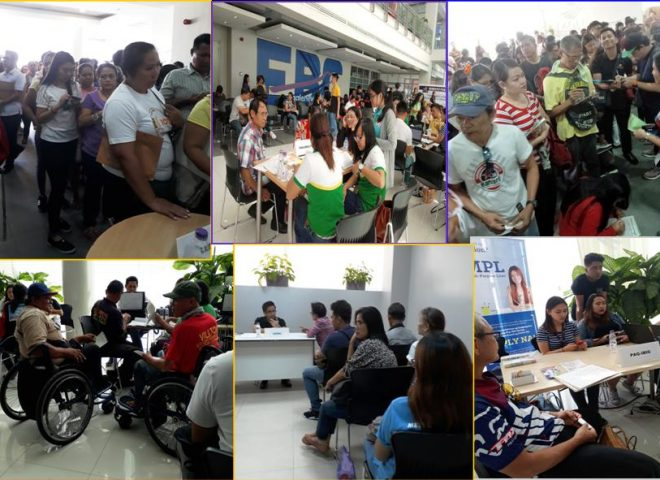 Public service event ng Eagle Broadcasting Corporation, dinagsa