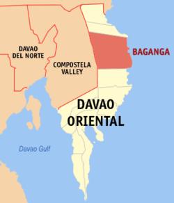 Baculin, Davao Oriental, niyanig ng magnitude 3.9 na lindol