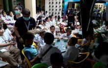 Feeding program, isinagawa ng Eagle Broadcasting Corporation sa Culiat Elementary school