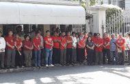 Mga kawani at opisyal ng Korte Suprema muling nagsagawa ng 'Red monday' protest