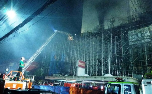 Sunog sa Manila Pavilion hotel, idineklara nang fire-out ....5 Patay, 24 sugatan