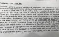 Dating Pangulong Aquino, dating Budget Secretary Abad at dating Health secretary Garin, inirekomendang makasuhan ng Senado dahil sa Dengvaxia mess