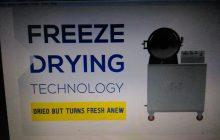 Freeze -drying Technology ng DOST-ITDI, malaki ang maitutulong sa Food Entrepreneurs sa bansa