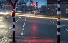 Ground traffic lights para sa mga Smartphone o cellphone users