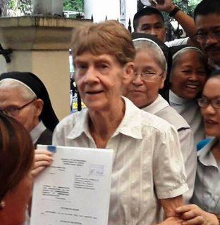 Patricia Fox hiniling sa DOJ na rebyuhin at baligtarin ang desisyon ng BI na kanselahin ang kanyang missionary visa at paalisin siya sa bansa