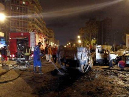 7 Katao, patay sa Car Bomb attack sa Libya