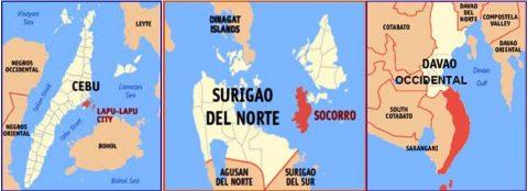 Lapu-Lapu city, Davao Oriental at Surigao del Norte, niyanig ng lindol