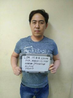 High-profile na Korean scammer, arestado ng Bureau of Immigration