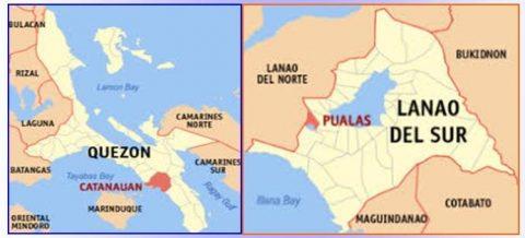 Catanuan, Quezon, Saranggani at Lanao del Sur, niyanig ng lindol