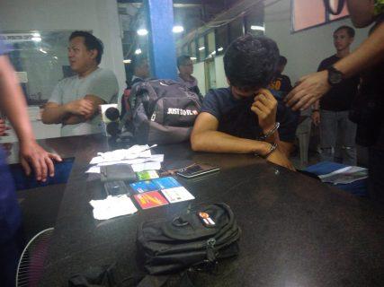 Holdaper, arestado sa Quezon City