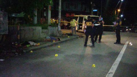 Tatlong holdaper patay matapos na manlaban sa mga otoridad sa Quezon City