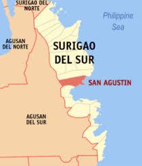 San Agustin, Surigao del Sur, niyanig ng lindol