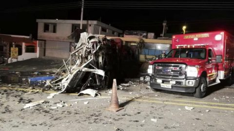 24 patay sa Bus accident sa Ecuador