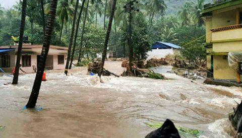Aso sa India, iniligtas ang buhay ng isang pamilya mula sa landslide