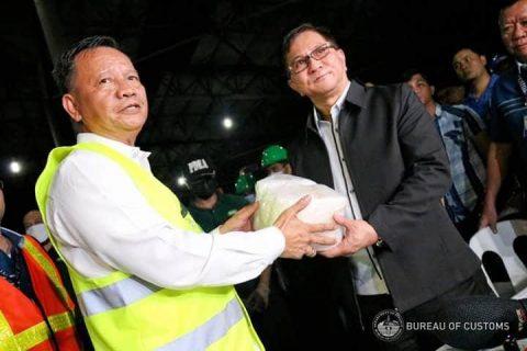 500 kilo ng shabu nasabat sa Port of Manila