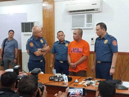 Drug Pusher na pulis, arestado sa Buy- bust operation sa Taguig