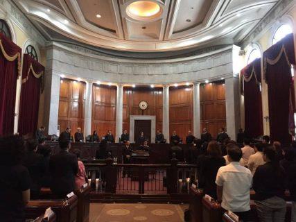 Mga mahistrado ng Court of Appeals, nag-courtesy call kay Chief Justice Teresita de Castro